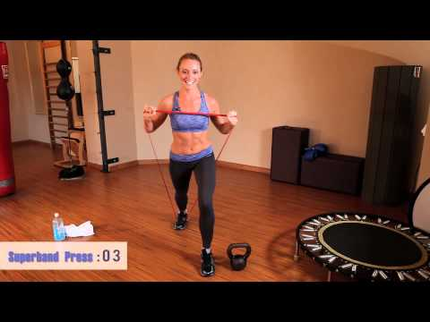 2-2-20 Workout: Kettlebell & Superband Collection Workout #1
