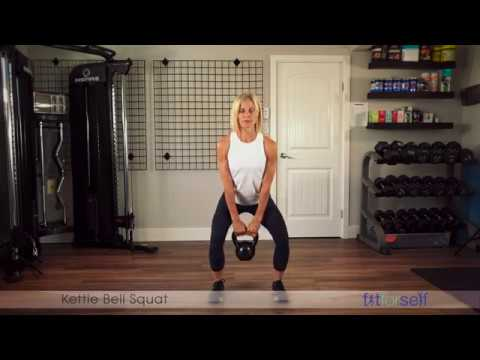 Kettlebell Squat – Fit For Self