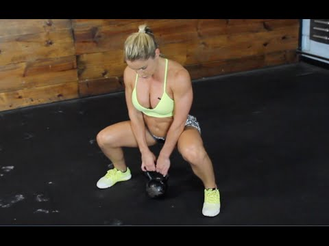 Lean Physique Exercise   Kettlebell Workout routines   Sarah Grace Fitness