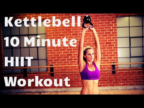 Kettlebell 10 Minute HIIT Exercise–Excessive Depth Interval Coaching for Beefy Burning and Energy