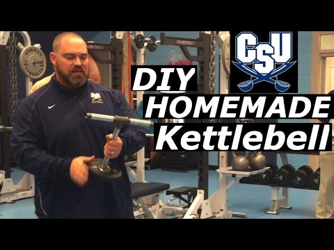 The pleasurable technique to form a homemade DIY Kettlebell with Chad Scott Charleston Southern University