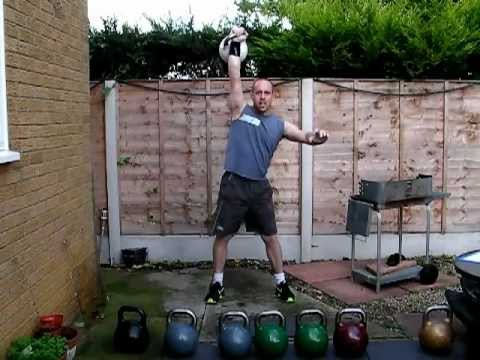 Kettlebell Practising – Heavy kettlebell coaching routine and strength exercise