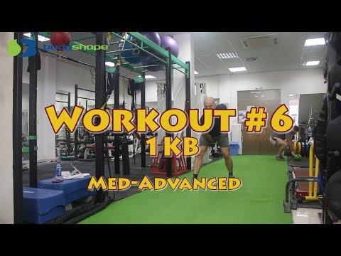 Total Body Kettlebell Workout #6
