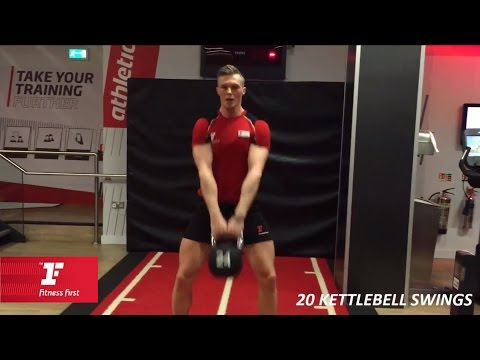 Fitness First UK – 10 Minute Workouts – Full Physique. Kettlebell Workout | Fitness First