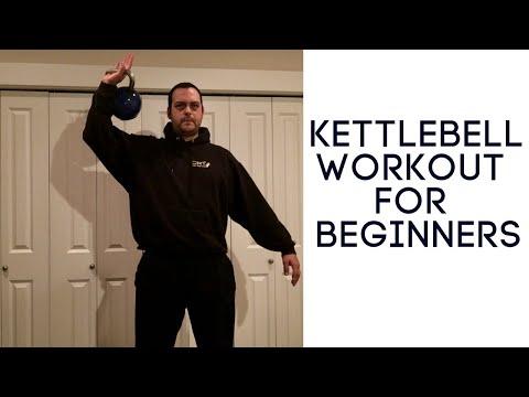 Beginner Kettlebell Exercise: Four pudgy burning kettlebell exercises for newbies.