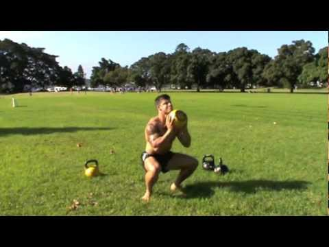 Fleshy Stripping Kettlebell Workout: Newbie Level – Kris Cochrane