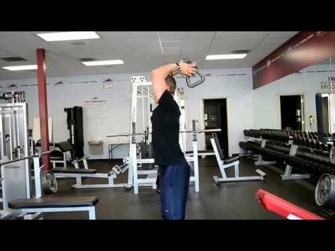 Kettlebell Triceps French Press – Lifelong Fitness – www.llfit.com