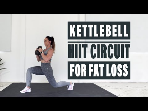 KETTLEBELL HIIT CIRCUIT (For Fat Loss)