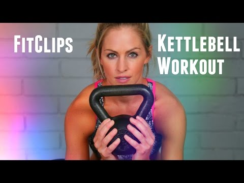 FitClips Kettlebell Exercise For Corpulent Loss and Energy