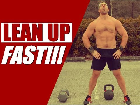 "Plump Kettlebell & Dumbbell Upper Physique Express [""Caboose Sets"" for More Fat-Loss] 
