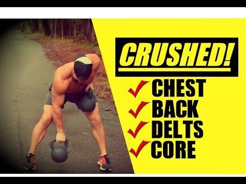 Push-Pull Kettlebell Exercise [INSANE Upper Body Pump!] | Chandler Marchman