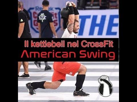Il Kettlebell nel Crossfit. American Swing