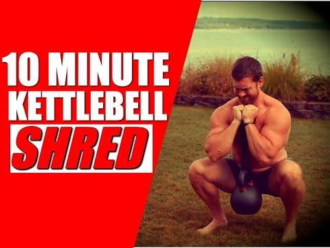 Kettlebell Push-Pull-Legs Workout [Fast & Effective Fat-Loss | Chandler Marchman