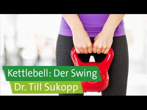 Kettlebell-Coaching für Anfänger mit Dr. Till Sukopp und Prof. Ingo Froböse: Der Swing