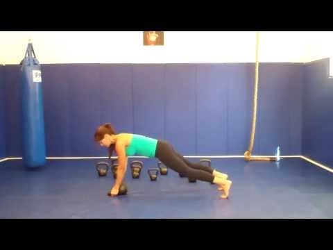 Push Up Adaptations with Kettlebell