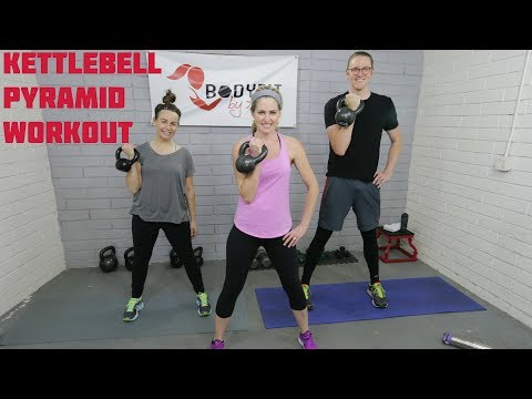 30 Minute Kettlebell Pyramid HIIT Suppose for Strengthening and Fat Burning