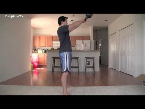 KettleBell Exercise- Lose Weight or Produce Muscle QUICKLY!!! BenjiManTV