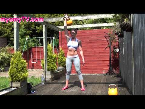Killer Double Kettlebell Complex | Dwelling Fitness Exercise