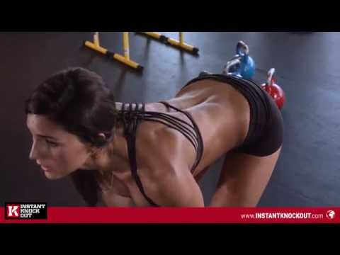 Dwelling kettlebell circuit for instantaneous full loss with Alexia Clark