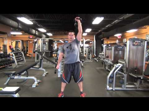 Easy programs to: Kettlebell Squat to Shoulder Press