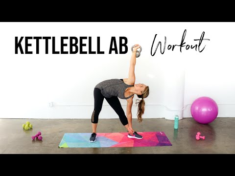 Kettlebell Ab Workout | The BEST Kettlebell Workouts for Abs!