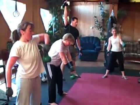 Vermont Kettlebell Bootcamp Exercise for Weight Loss