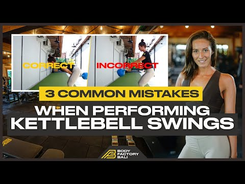 3 Total Mistakes When Performing Kettlebell Swings | Fixing And Avoiding These Mistakes