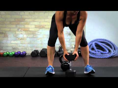 Take care of a Saggy Butt with the Kettlebell Sumo Deadlift