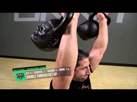 Double Werewolf Power Kettlebell Workout