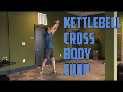 How To: Kettlebell Sinister Body Sever (Shoulders, Core, Legs)