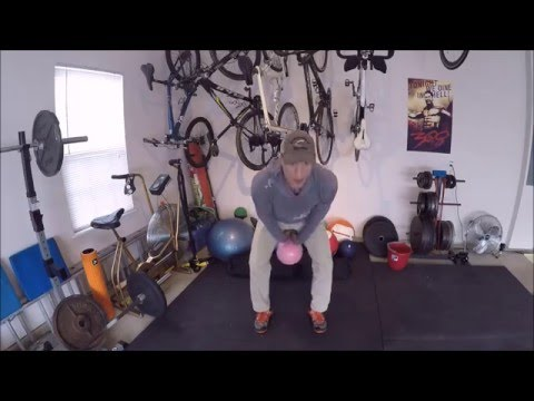 The formulation to correctly construct a Kettlebell Swing:  Strength Coaching for Cyclists & Triathletes