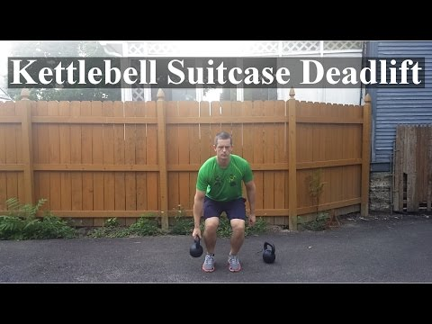 : Kettlebell Suitcase Deadlift
