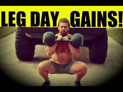 HEAVY Kettlebell Leg Routine [Build Strength, Mass, & Muscularity] | Chandler Marchman