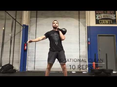 Kettlebell Exercise with 5 Workout routines