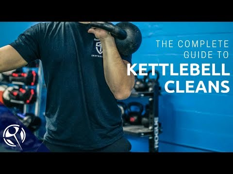 The COMPLETE Info to Kettlebell Cleans!