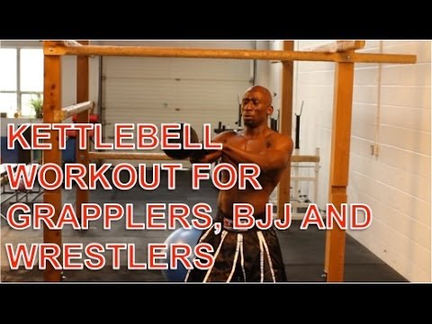 BJJ Exercise – Grapplers Circuit – Kettlebell Coaching for MMA