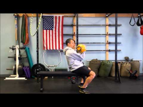 The suitable kettlebell chest exercise | Single arm bench press