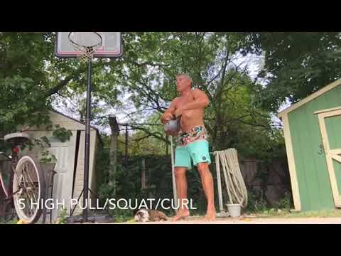 Kettlebell workout routines | biceps
