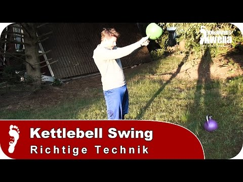 Kettlebell Swing | Tutorial – So funktioniert der Hip Hinge!
