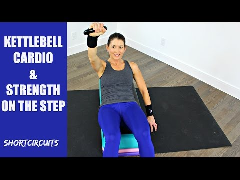 KETTLEBELL CARDIO & STRENGTH ON THE STEP