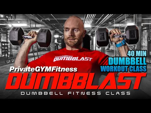 DUMBBLAST Liberate 1 (Week 1, Day 1) – Fullbody Cardio & Power Bid | 🔴 Dumbbell Bid Class
