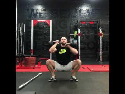 Kettlebell Sots press – Scuttle Fitness workout inspiration