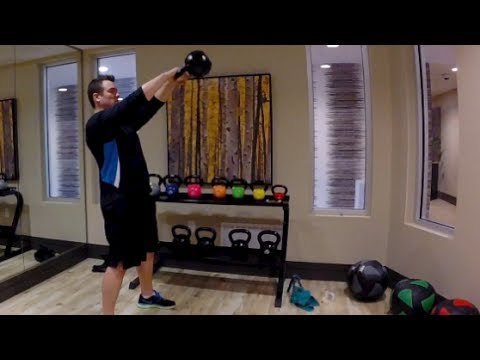 THE BEST 15 MINUTE KETTLEBELL WORKOUT FOR FITNESS