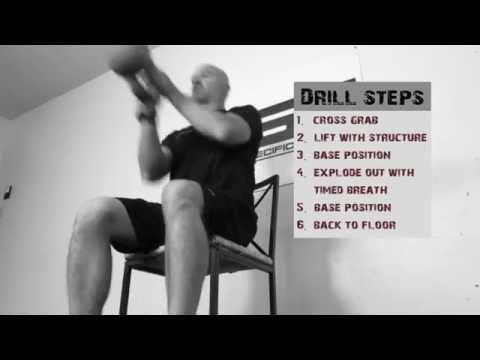 MSF Law Enforcement Level 1 Kettlebell Drill (Explosive Strength)