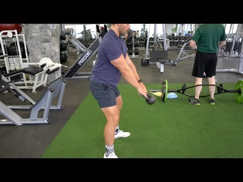 Kettlebell swing – FD Successfully being