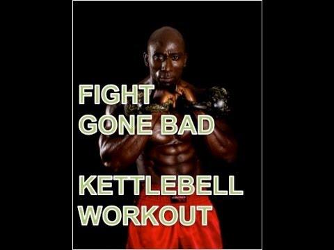 Battle Gone Skedaddle Kettlebell Workout