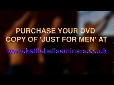 Kettlercise 'Factual for Males' – Preview for Kettlebell workout DVD – kettlebell workout routines for men