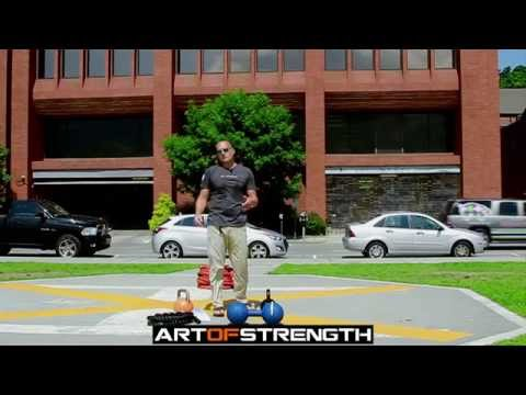 Art work of Strength – Enter the Kettlebell Workout training Guide