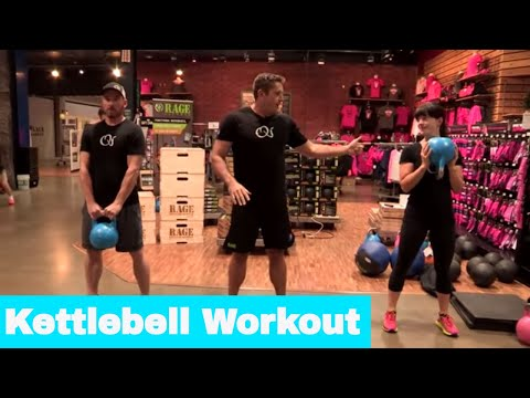 At-Home Kettlebell Workout With Chris Lindley
