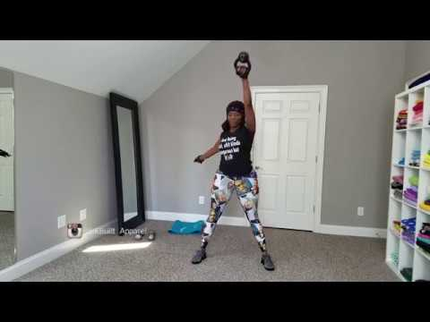 KettleBell Workout (Your total body will feel this!)